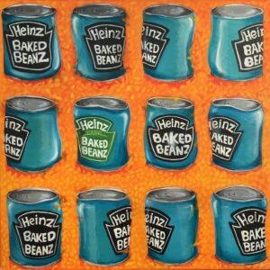 heinz baked beans art
