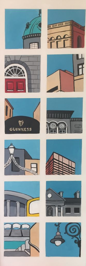 Snapshots of Dublin - from the Dome on Mary Street to a Georgian Lamp