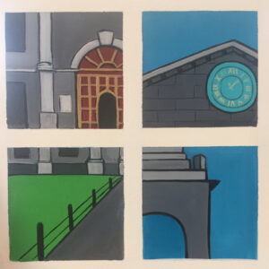 trinity campanile