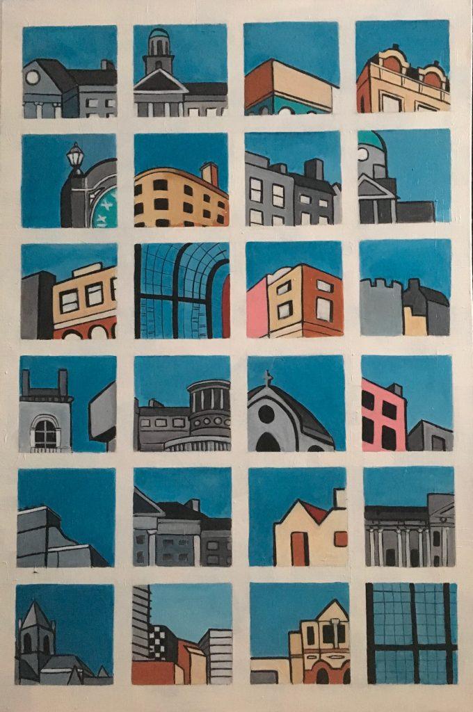 Snapshots of Dublin - from Trinity to Bewleys [SOLD]