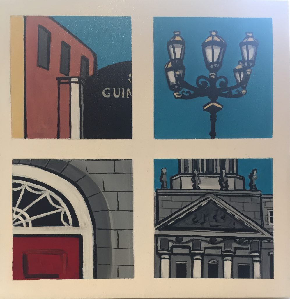 Snapshots of Dublin - from Guinness Gates to the Customs House