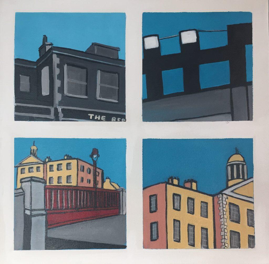 Snapshots of Dublin - from The Bernard Shaw to Portobello College