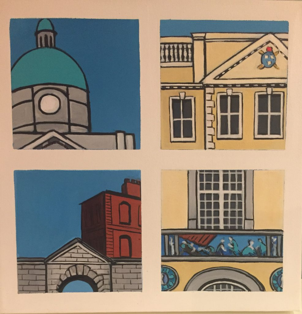 Snapshots of Dublin - from the Dail to Sunlight Chambers [SOLD]