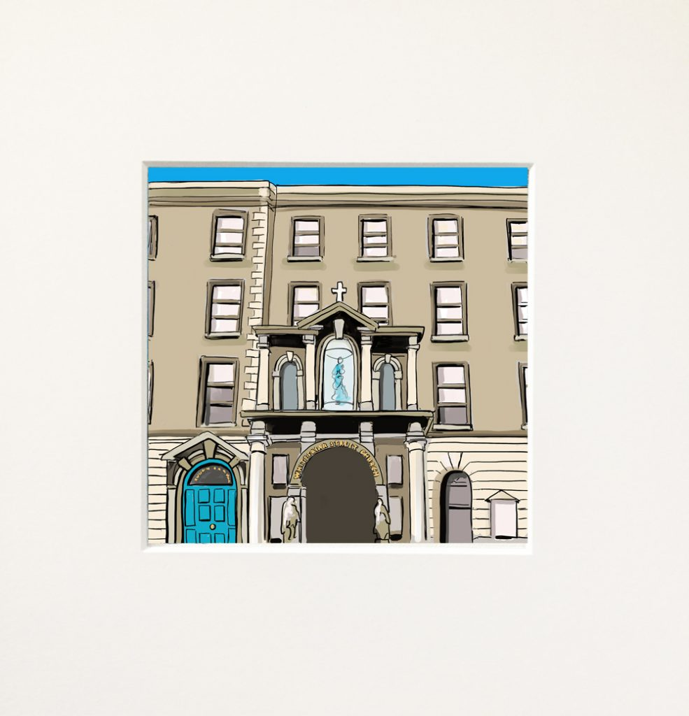 Snapshots of Dublin - miniatures - Whitefriar St Church