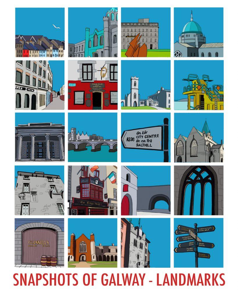 Snapshots of Galway - Landmarks