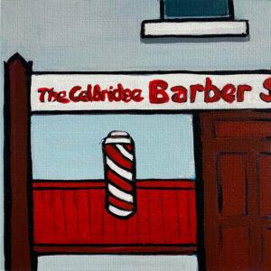 barber shop print