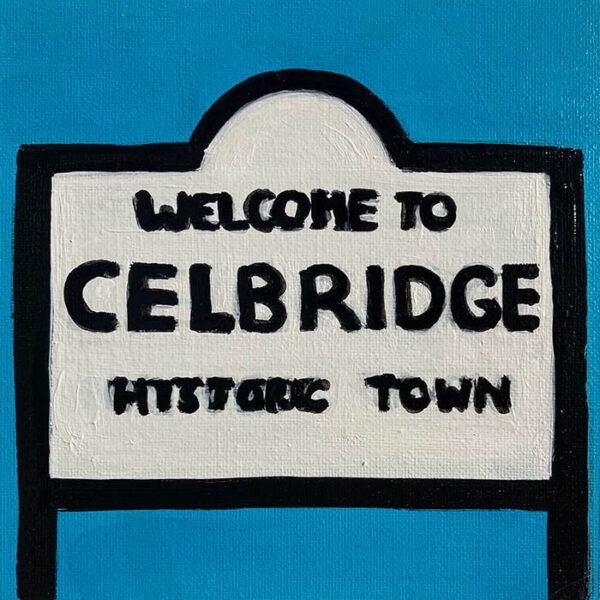 welcome to celbridge sign