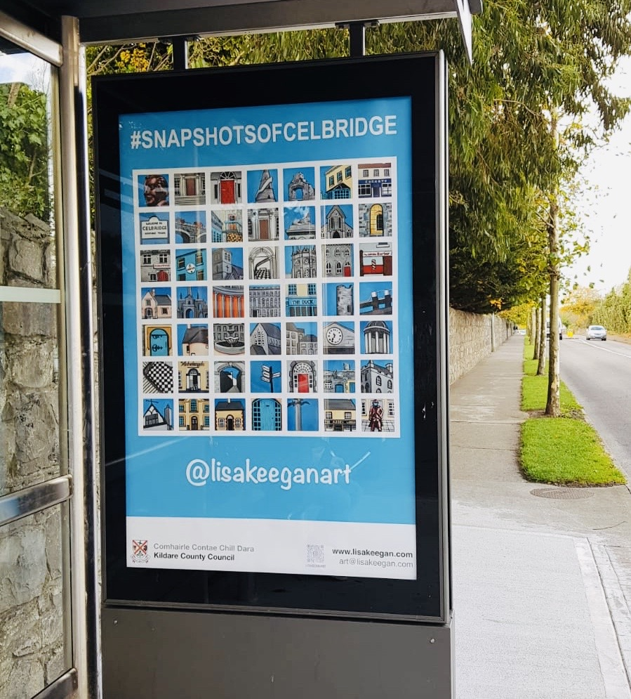 lisa keegan bus stop exhibition
