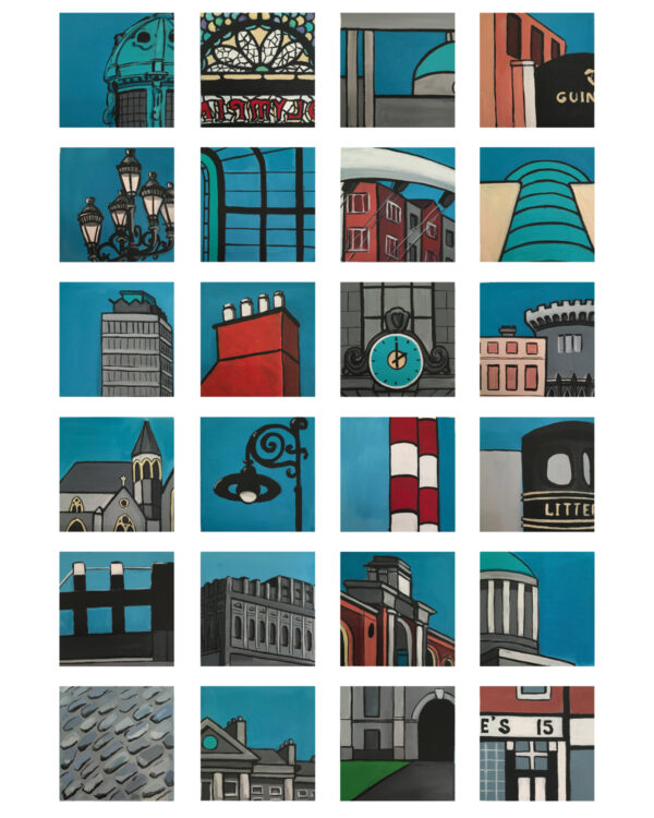 snapshots of dublin landmarks