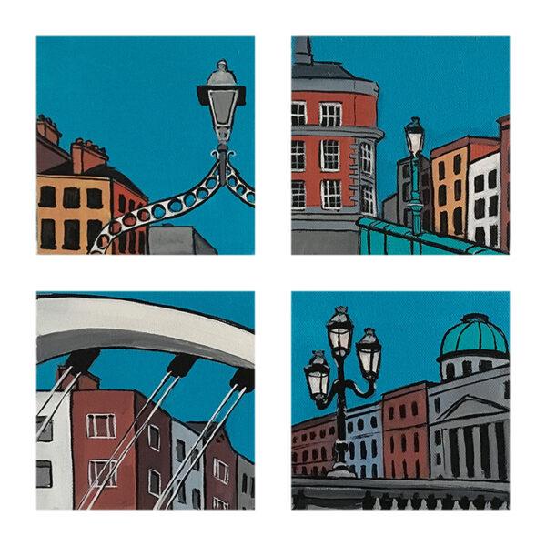 snapshots of dublin - bridges