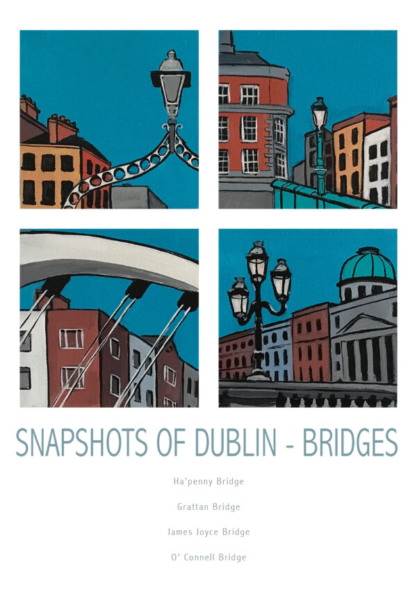 snapshots of dublin - bridges