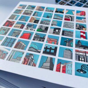 snapshots of dublin cards