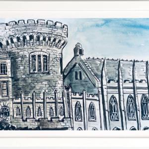 dublin castle sketch