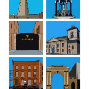 snapshots of dublin - liberties - digital